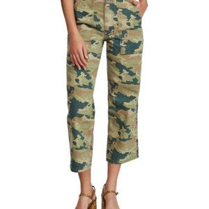NWT Free People Women's Green Remy Camo